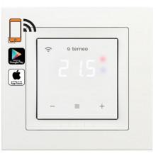 Электронный терморегулятор Terneo sx unic с Wi-Fi Белый