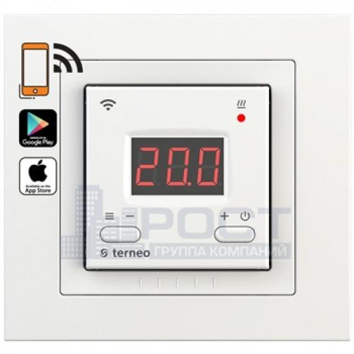Электронный терморегулятор Terneo AX unic с Wi-Fi Белый
