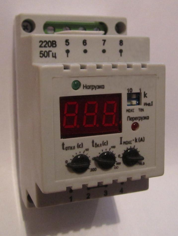 реле контроля тока